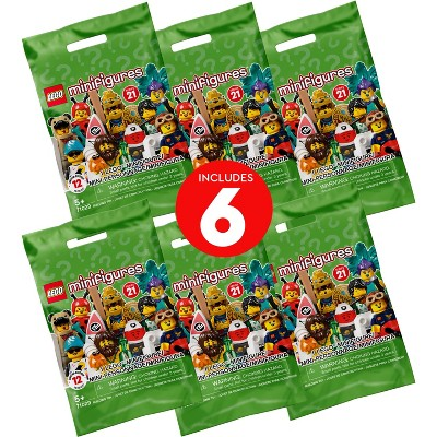 LEGO Minifigures Series 21 66657 (Pack of 6)