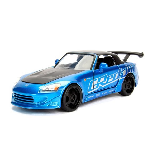 Jada Toys JDM Tuners 2001 Honda S2000 HardTop Die-Cast Vehicle 1:24 Scale Candy Blue - image 1 of 4