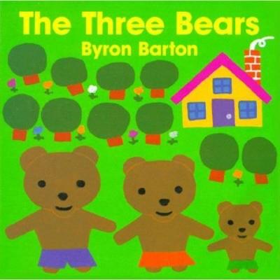 The Three Bears Board Book - by Byron Barton