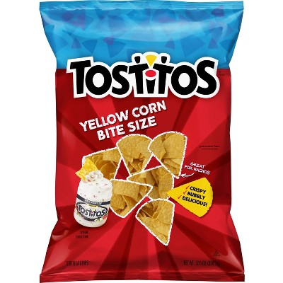 Tortilla & Corn Chips: Tostitos Yellow Corn Bite Size