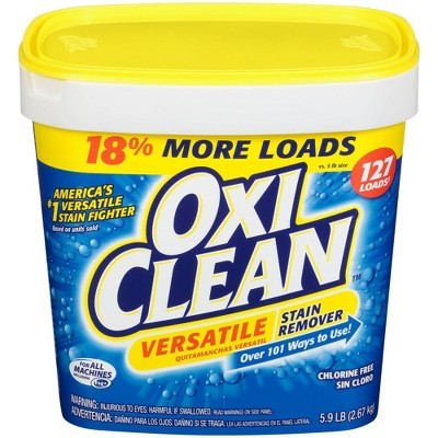 OxiClean Versatile Stain Remover Powder - 5.9lbs