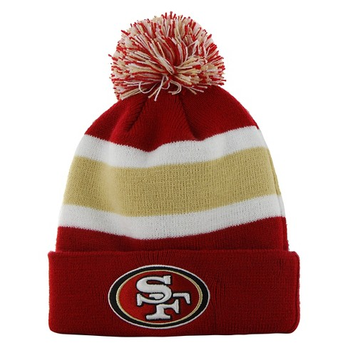 2b94756cb NFL Breakaway Beanie with Pom, San Francisco 49ers