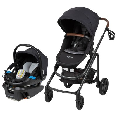 Maxi Cosi Tayla XP Travel System with Coral XP Pure Cosi - Essential Black