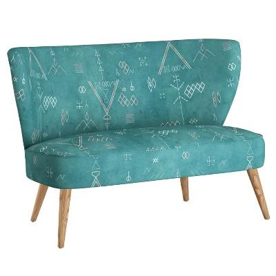 Armless Love Seat - designlovefest