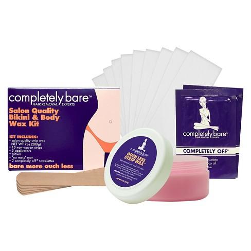 Completely Bare Bikini Body Wax Kit 7 0 Fl Oz Target