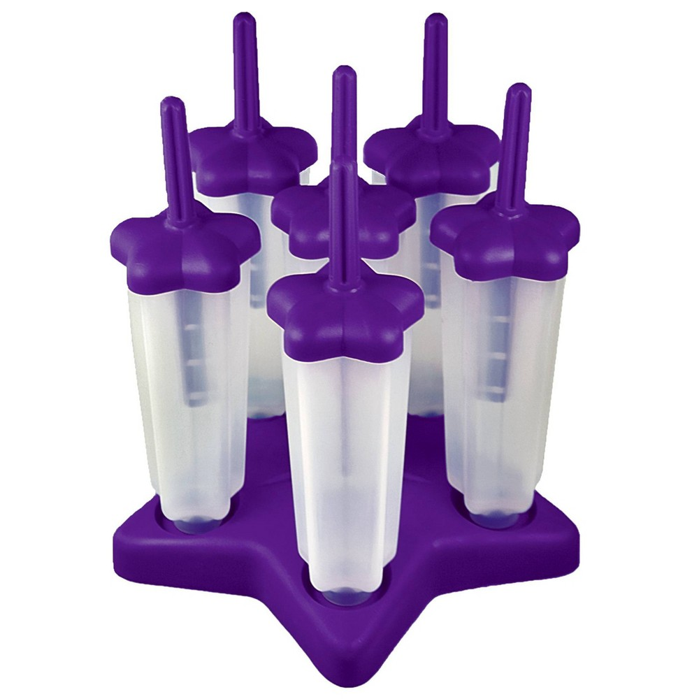 Image of Tovolo Star Popsicle Molds - Set of 6