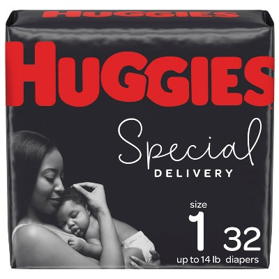 Huggies Special Delivery Hypoallergenic Diapers Jumbo Pack - Size 1 (32ct)