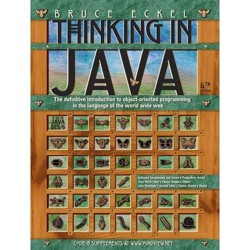Thinking in Java - 4 Edition by  Bruce Eckel (Paperback) - image 1 of 1