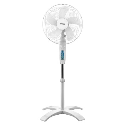 Optimus 16in Wave Oscillating Stand Fan with Remote Control
