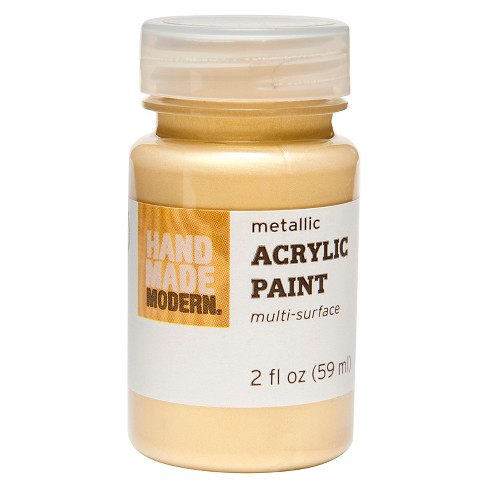 2oz Metallic Acrylic Paint - Hand Made Modern® - image 1 of 1
