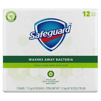 Safeguard Aloe Bar Soap - 12pk - 4oz each
