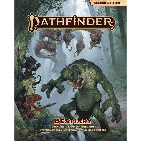 Pathfinder Bestiary (P2) - (Hardcover) - image 1 of 1