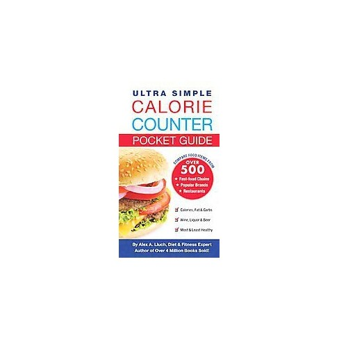 ultra simple calorie counter diet journal paperback alex a