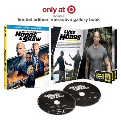 Fast & Furious Presents: Hobbs & Shaw (Target Exclusive) (Blu-Ray + DVD + Digital)