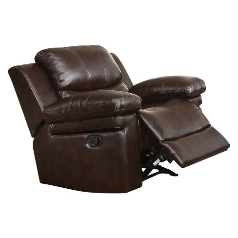 Accent Chairs Acme Furniture Brown - image 1 of 2