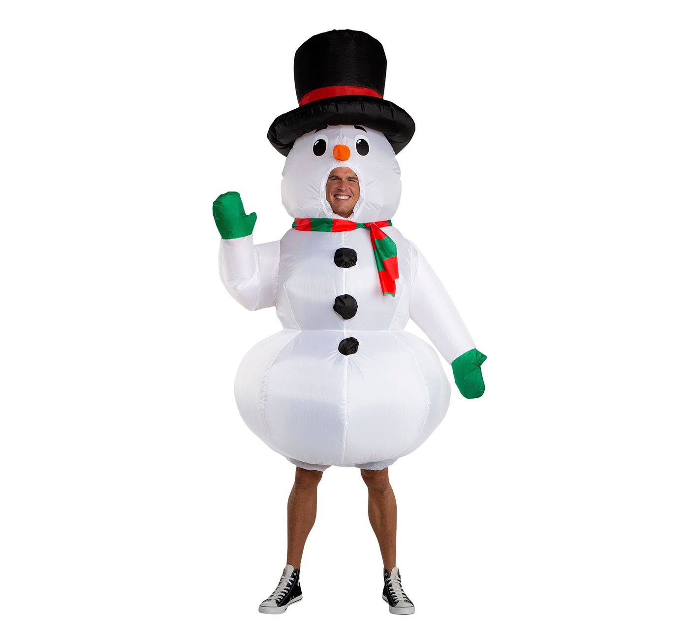 Wondershop Inflatable Snowman Costume One Size