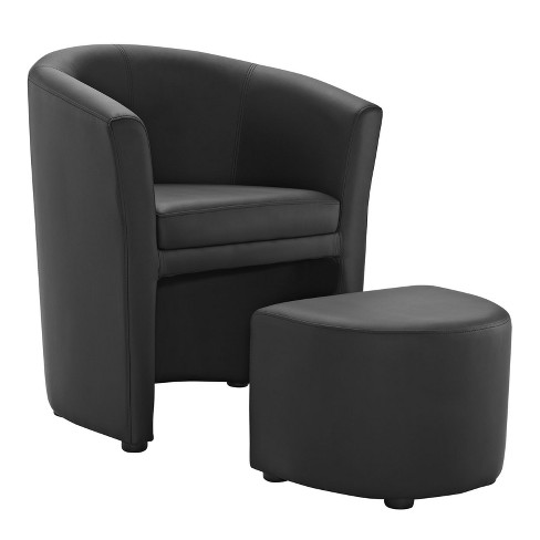 Divulge Armchair and Ottoman - Modway - image 1 of 5