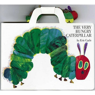 The Very Hungry Caterpillar Giant Board Book And Plush Package - By Eric  Carle (Mixed Media Product) : Target