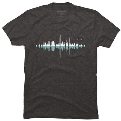 Music City (Clear Graphic) Mens Graphic T-Shirt - Design By Humans