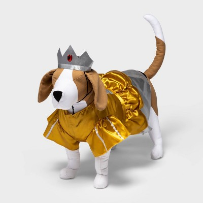 Royal Gown and Crown Dog Costume Set - Hyde & EEK! Boutique™