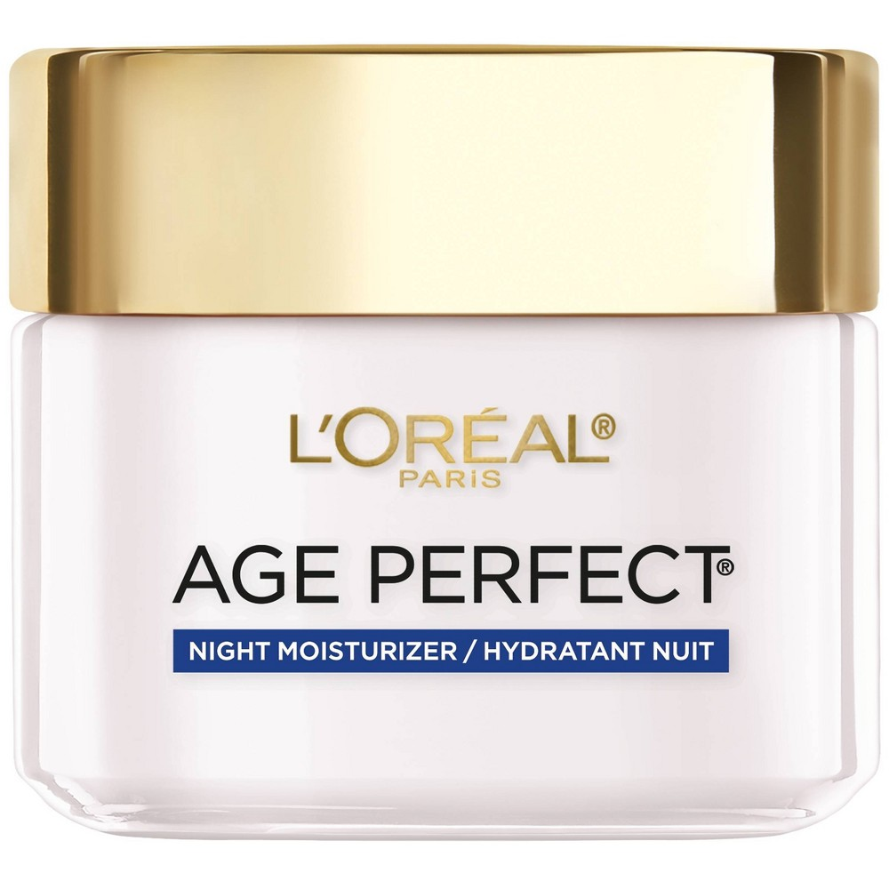 L 39 Oreal Paris Age Perfect Anti Sagging Even Tone Night Moisturizer 2 5oz