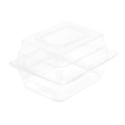 Bright Creations Clear Corsage Boxes, Flower Container (20 Pack)