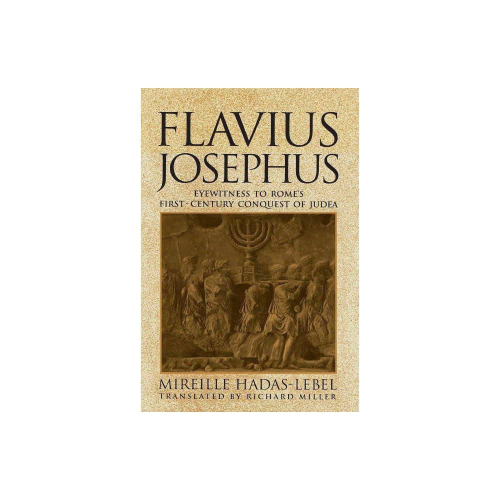 Flavius Josephus By Mireille Hadas Lebel Paperback
