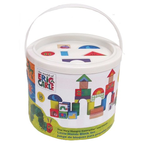 Eric Carle Block Set - 30pc. with shape sorter lid - image 1 of 1