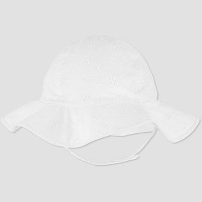 Baby Girls' Eyelet Swim Hat - Just One You® made by carter's White 6-12M