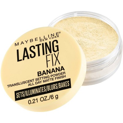 Maybelline Lasting Fix Translucent Loose Setting Powder - Banana - 0.21oz
