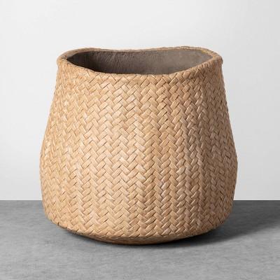 Medium Planter Woven Cement - Hearth & Hand™ with Magnolia
