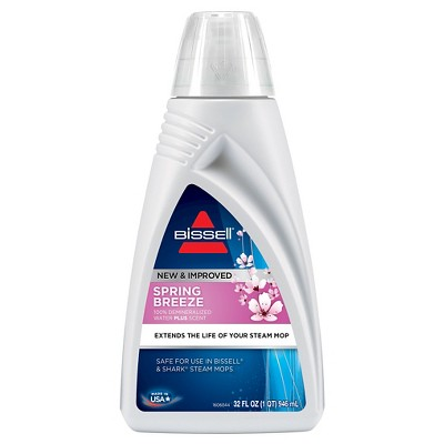 BISSELL® Spring Breeze 32oz. Scented Dermineralized Steam Mop Water - 1394
