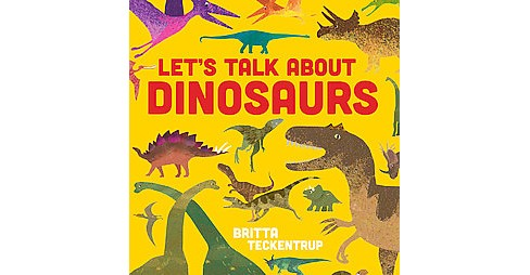 Let's Talk About Dinosaurs (School And Library) (Harriet  Blackford) - image 1 of 1