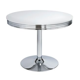 Raleigh Retro Dining Table White - Buylateral