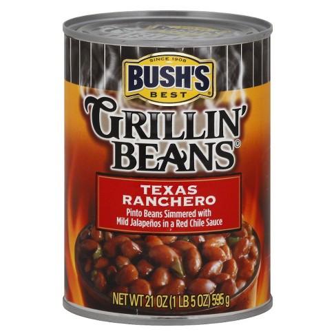 Bush's Best Grillin' Beans Texas Ranchero Pinto Beans 21 oz - image 1 of 1