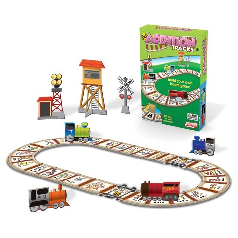 Junior Learning® Tracks Board Game - Addition - image 1 of 3
