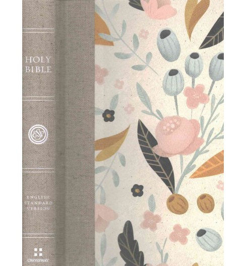 Holy Bible : English Standard Version, Spring Bloom, Thinline (Hardcover) - image 1 of 1