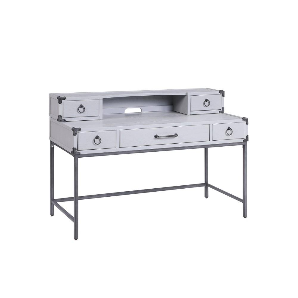 Orchest Desk Gray - Acme Furniture Orchest Desk Gray - Acme Furniture