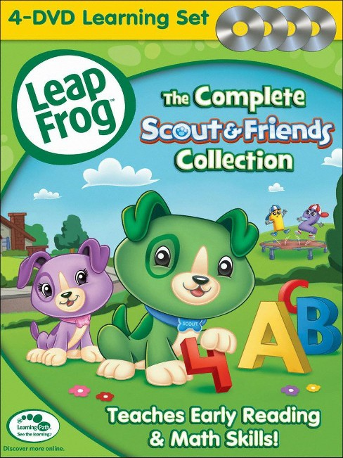 LeapFrog: The Complete Scout & Friends Collection [4 Discs] - image 1 of 1