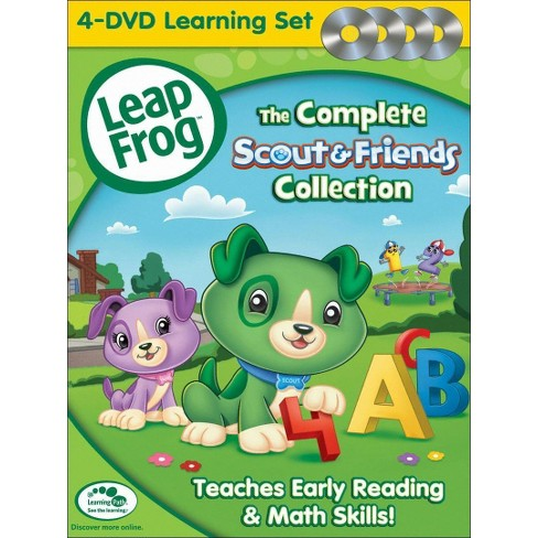LeapFrog: The Complete Scout & Friends Collection (4 Discs) (DVD) - image 1 of 1