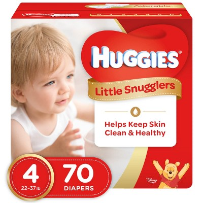 Huggies Little Snugglers Diapers - Size 4 (70ct)