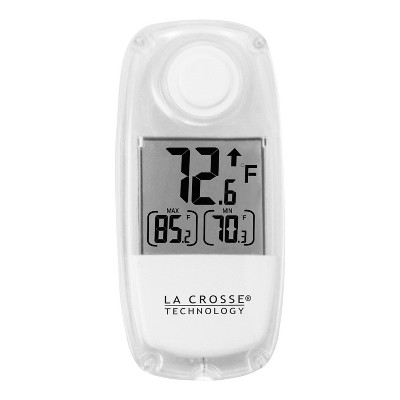 La Crosse Technology Solar Window Thermometer