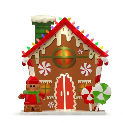 Mr. Christmas Outdoor Light up Christmas Decoration - Gingerbread House