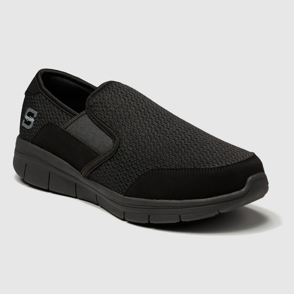 Men's S Sport By Skechers Optimal Slip On Performance Athletic Shoes - Black 13