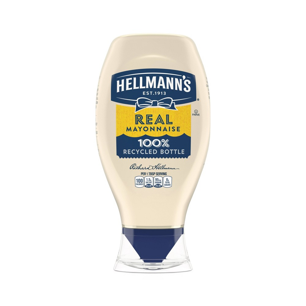 Hellmanns Real Mayonnaise Squeeze - 20oz Reviews
