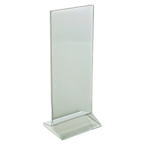 "Azar® 4.25"" x 11"" Top-Load Acrylic Sign Holder 10ct - image 1 of 1"