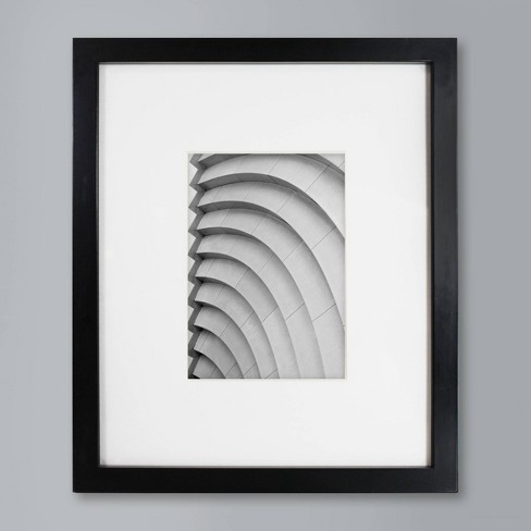 """Single Picture Frame 5"""" x 7"""" Black - Made By Design™ - image 1 of 4"""