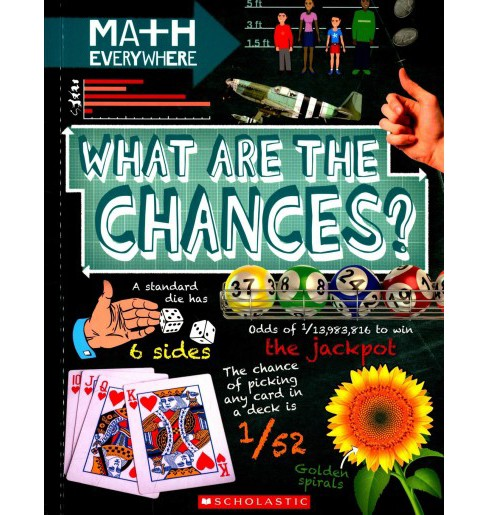 What Are the Chances? : Probability, Statistics, Ratios, and Proportions (Paperback) (Rob Colson) - image 1 of 1