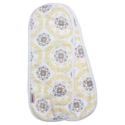 Bébé au Lait 2pk Muslin Burp Cloth Set - Verona