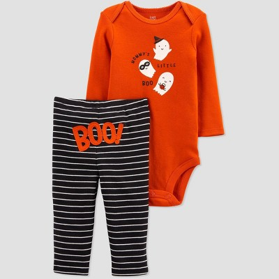 Baby 'Mommy's Boo' Top and Bottom Set - Just One You® made by carter's Black/Orange